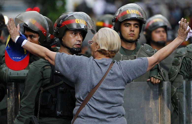Las imágenes más impactantes de las protestas en Venezuela