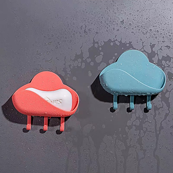 Cloud Soapdish And Hooks