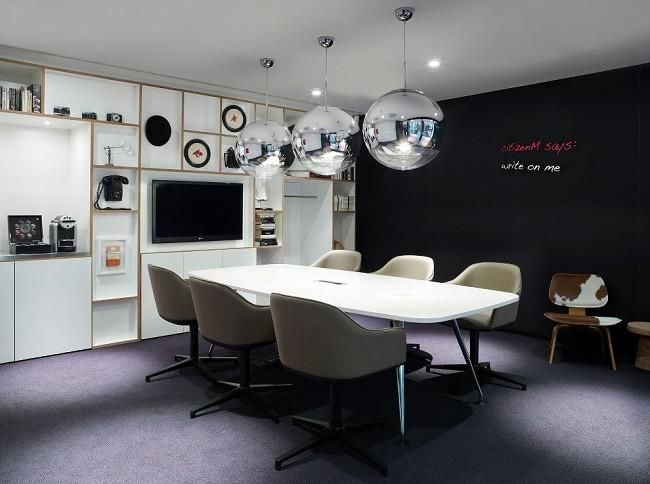 Hotel CitizenM Bankside, vanguardia y color a un paso de la Tate - design hotel citizenm london