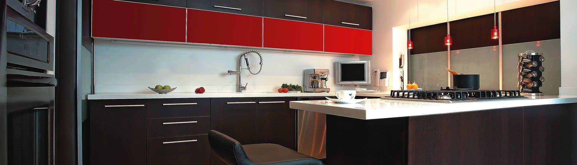 Herrajes de Lujo para Muebles de Cocinas Integrales. Cada zona ...