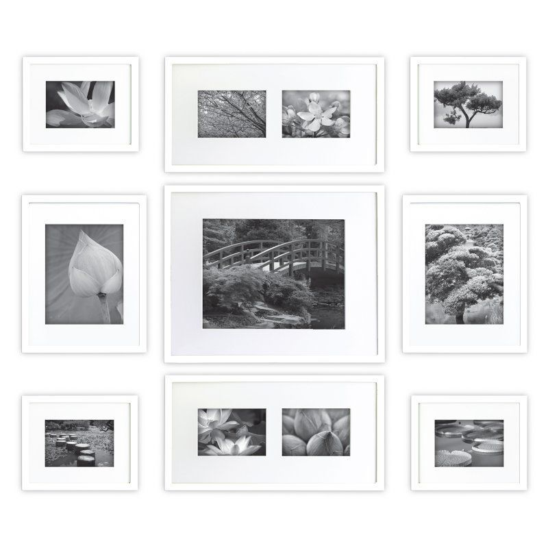 Nielsen Bainbridge Gallery Perfect Wall Picture Frame Kit with 11 ...