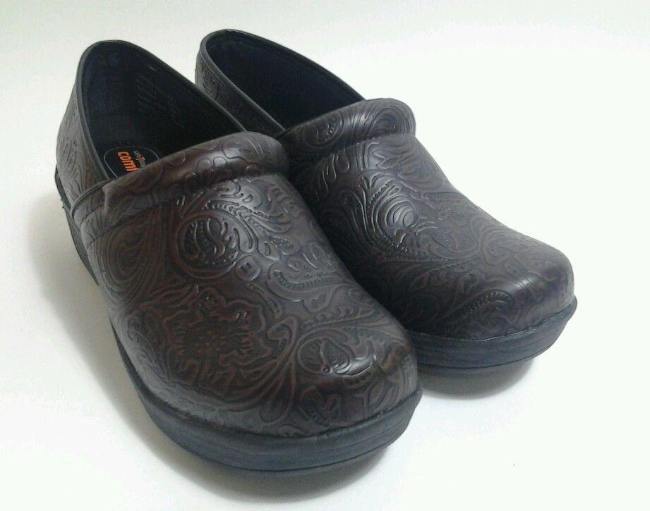 Safe T Step Comfort Shoes Brown Women