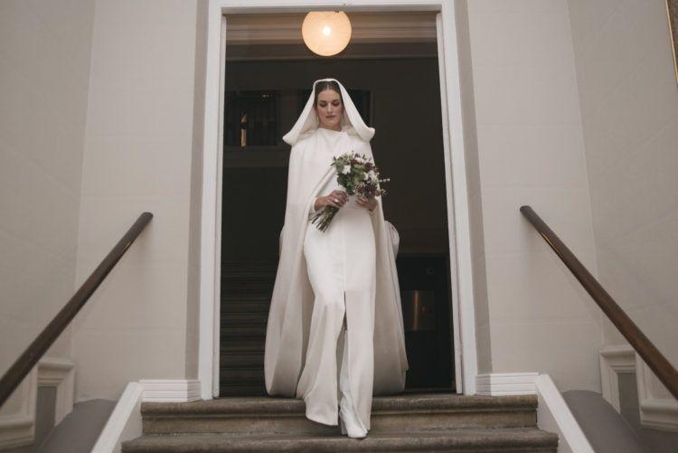 La novia de la capa y las botas blancas (lasbodasdetatin)