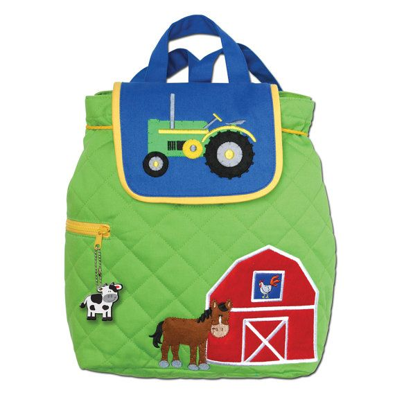 PERSONALIZED Backpack StephenJoseph Backpack Diaper Bag Signature Farm Toddler Pre School  INCLUDES SHIPPING!!!