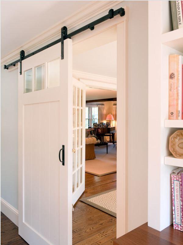 Sliding Door From Houzz Com Home Barn Door Designs Dream House