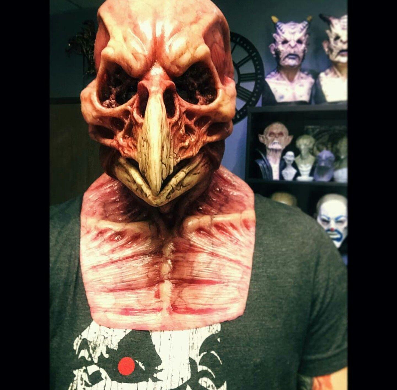 Bird Skull Silicone Mask Silicone masks, Bird masks