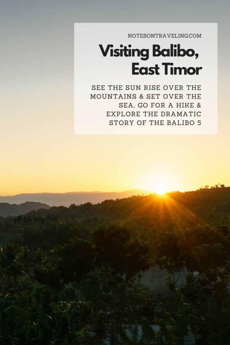 Photo of Balibo And East Timor's Western Border Region