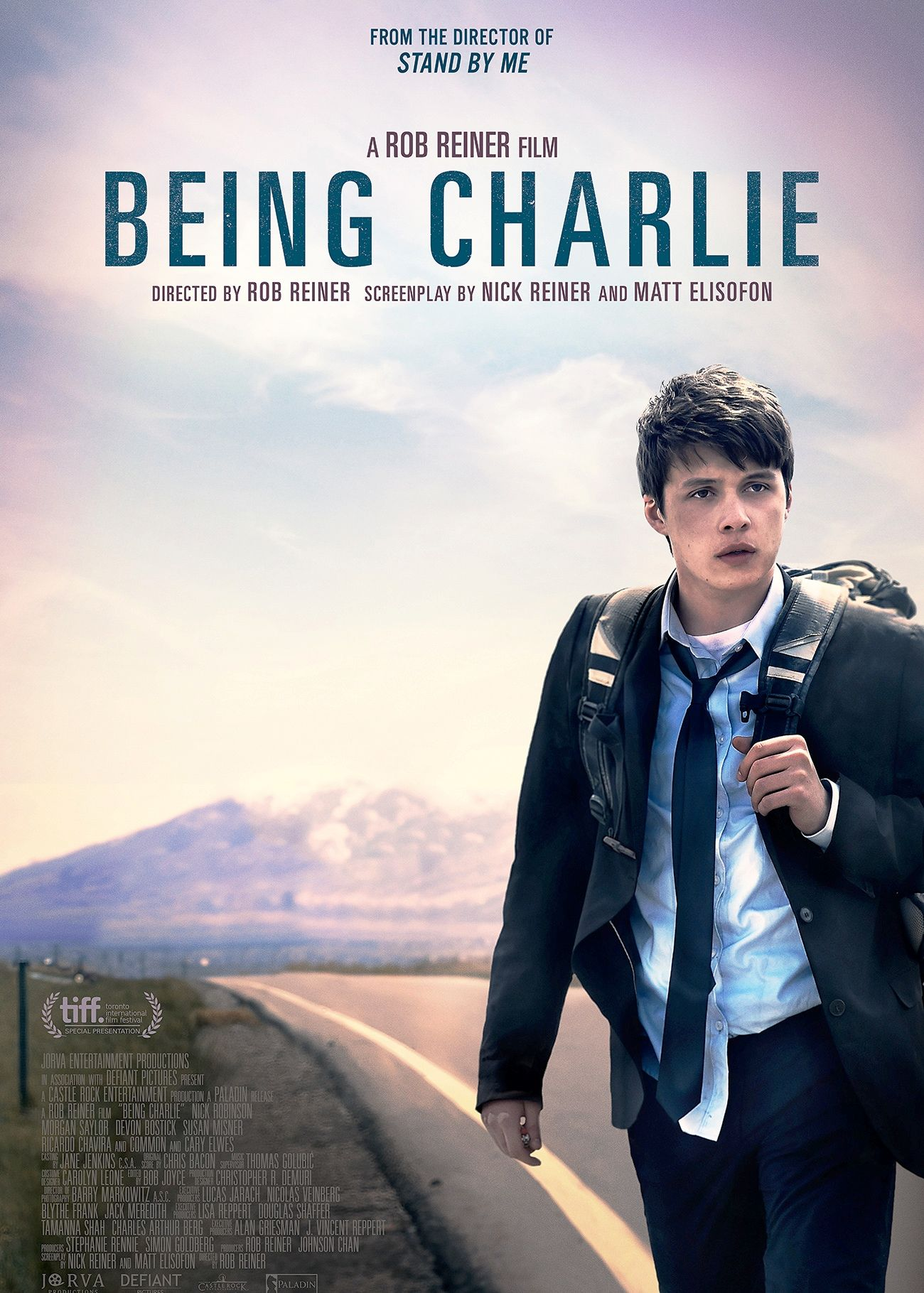 Being Charlie Movie Poster 2015 This Film About A Teenage Drug Addict Made Its Premiere At The Toronto Inter Streaming Movies Nick Robinson English Movies
