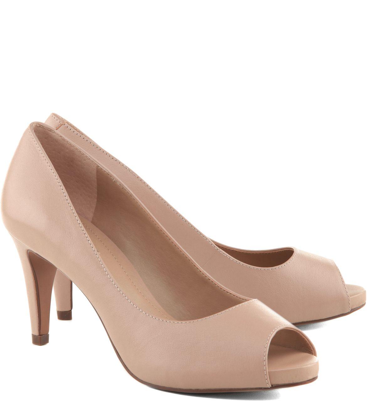 0a1285041 Peep Toe Classic Médio Street Rose in 2019 | shoes | Sapatos ...