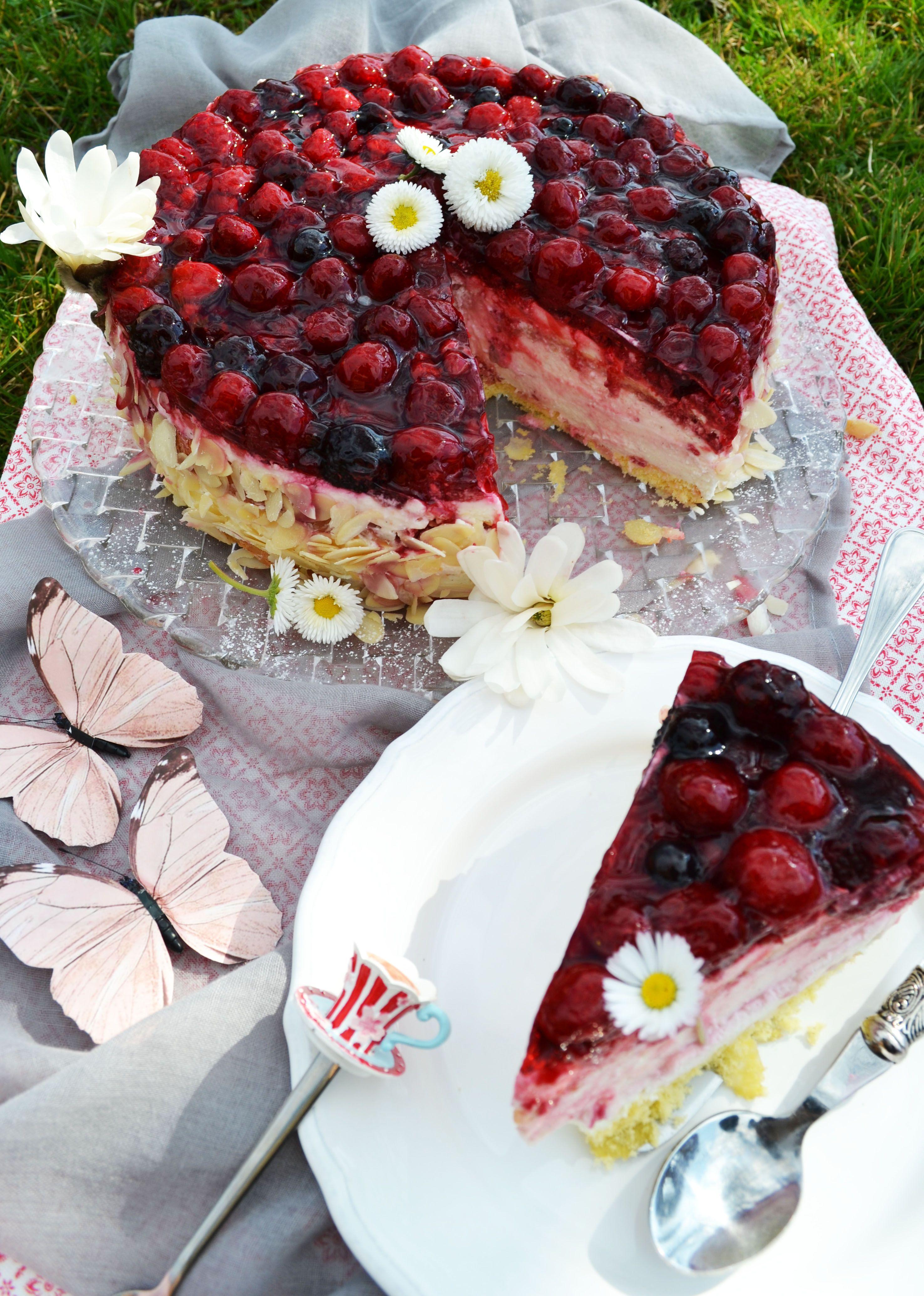Topfen - Joghurt - Torte