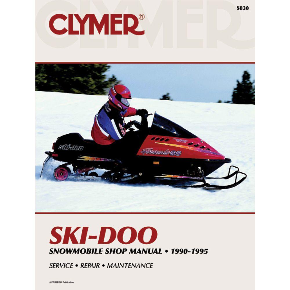 Clymer Ski-Doo Snowmobile (1990-1995) -  https://www.boatpartsforless.com/shop/clymer-ski-doo-snowmobile-1990-1995/