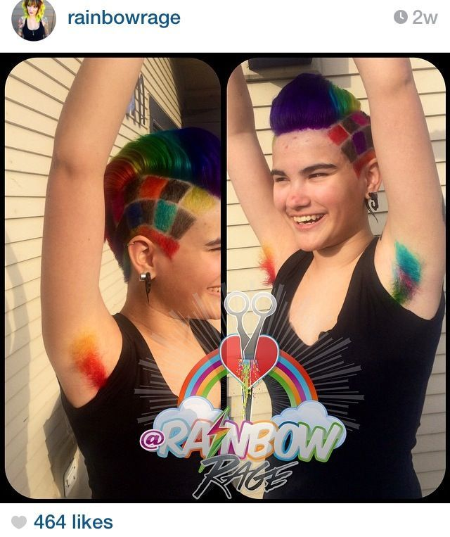 Neon Armpit Hair These Ladies Said Absolutely Armpit Hair Women Dyed Armpit Hair Women Body Hair