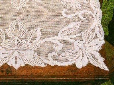 Copritavolo Ovale ~ Professione donna schemi per il filet copritavolo rettangolare