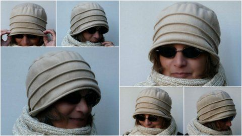 gkkreativ: Fleecehut selber nähen | Chemo Hats - Fabric Hats ...
