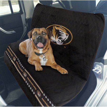 Pets First College Missouri Tigers Car Seat Cover