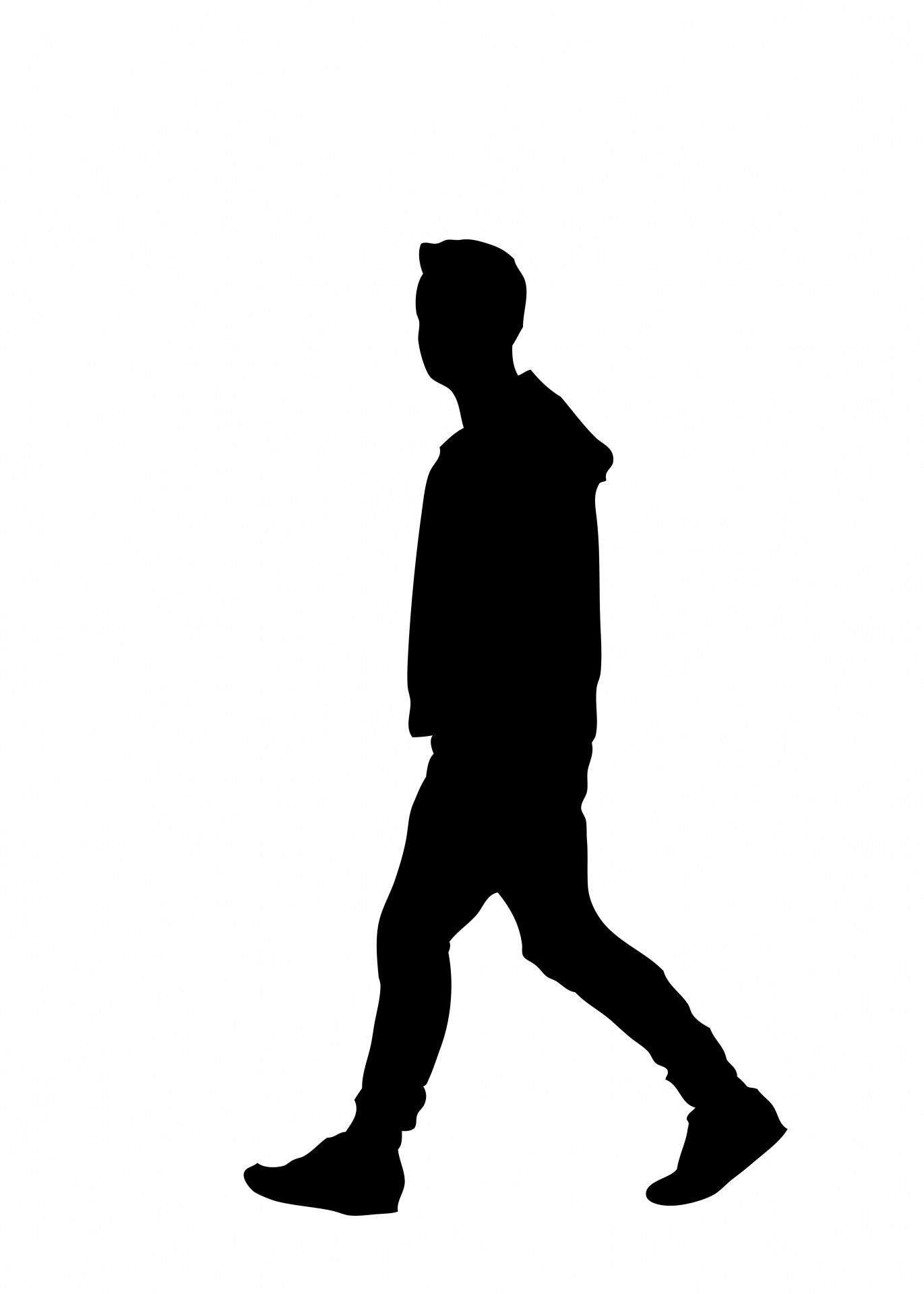 silhouette walking away - Google Search | Scale figures ...