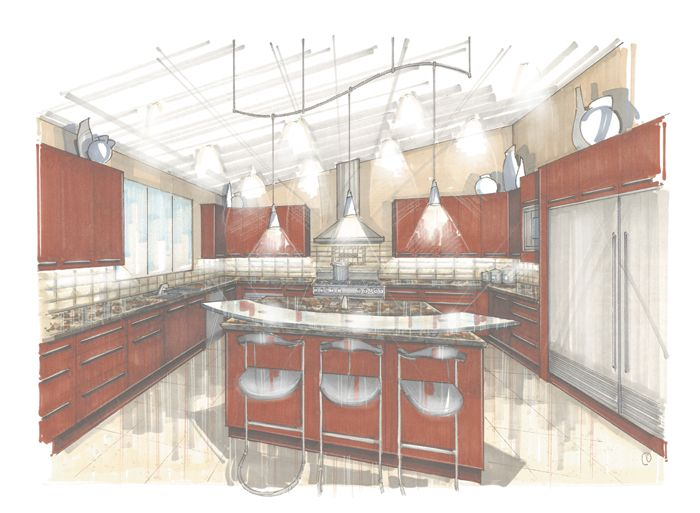 I Rendering Architectural Renderingperspectivedesignartexterior Interior