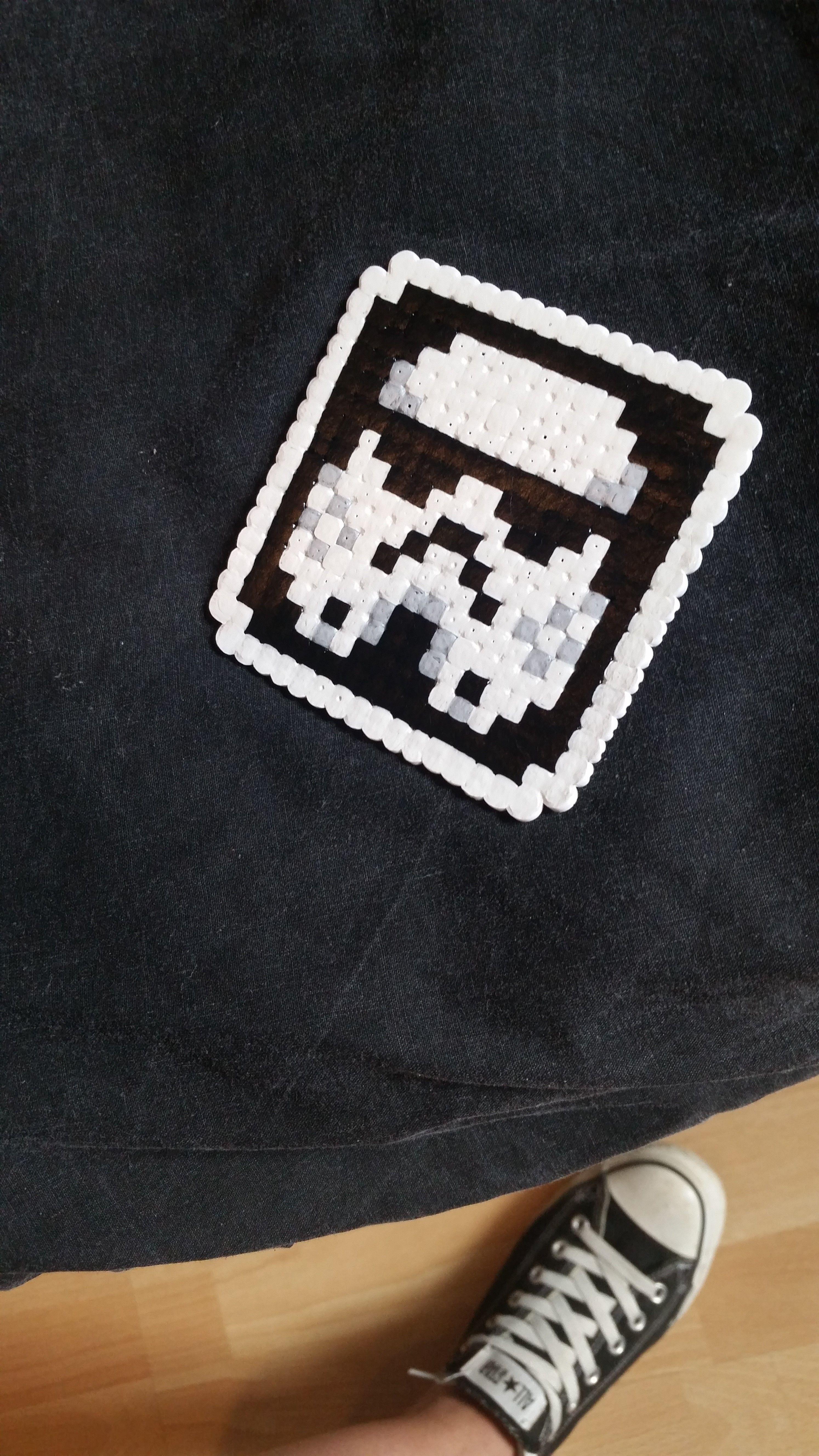 Stormtrooper Star Wars Hama Nabbi Beads By Thecraftshaft