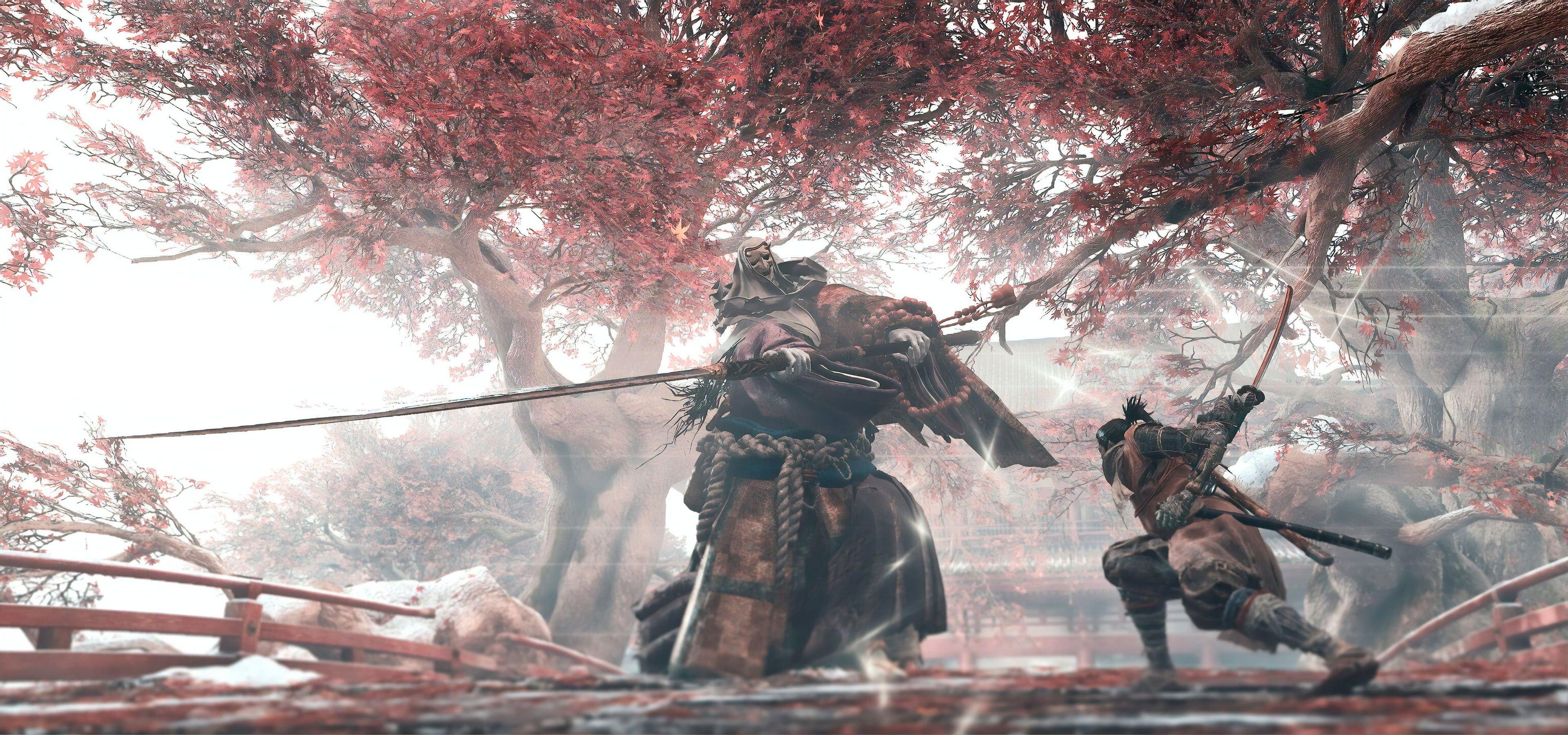 Video Games Video Game Art Sekiro Shadows Die Twice 4k Wallpaper Hdwallpaper Desktop In 2020 Combat Art Game Art Art