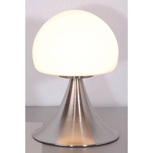 Lampe De Chevet Tactile En Alu Brosse Lichting Pinterest