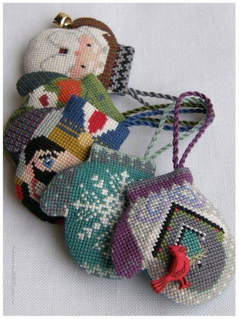 Gallery.ru / Photo # 16 - with mittens - Ka | Punto de cruz ...