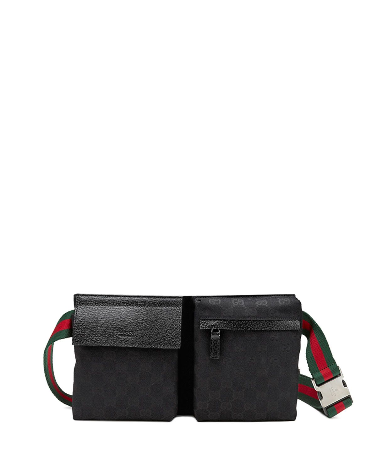 937a178157 Original GG Canvas Belt Bag, Black - Gucci | *Luggage & Bags > Fanny ...