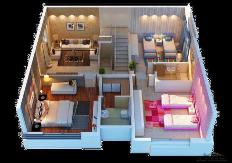 فيلا دوبلكس تتألف من دورين وملحق علوي وخارجي مساحة البناء 280 متر مرب Arab Arch Wall Colors Home Decor Wall