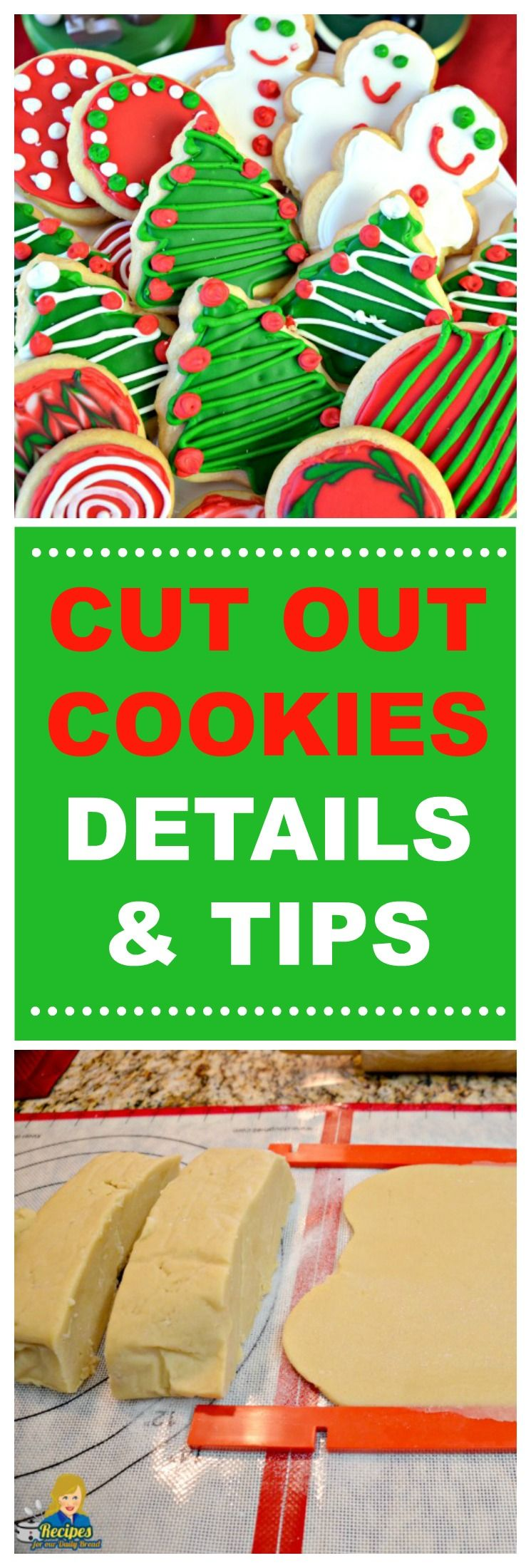 CUT OUT COOKIES TIPS & TRICKS MAKE BEAUTIFUL COOKIES