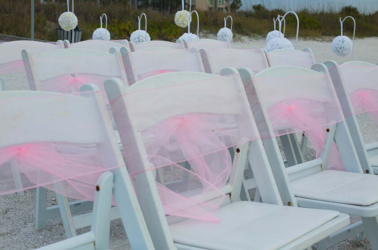 Blush sashes are pretty in pink!