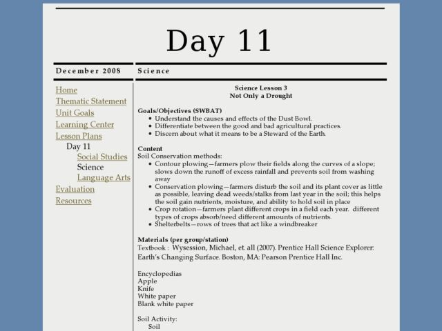 Not Only A Drought 7th 12th Grade Lesson Plan Lesson Planet Science Lessons Lesson