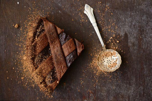 Chocolate tart by Ernst Knam