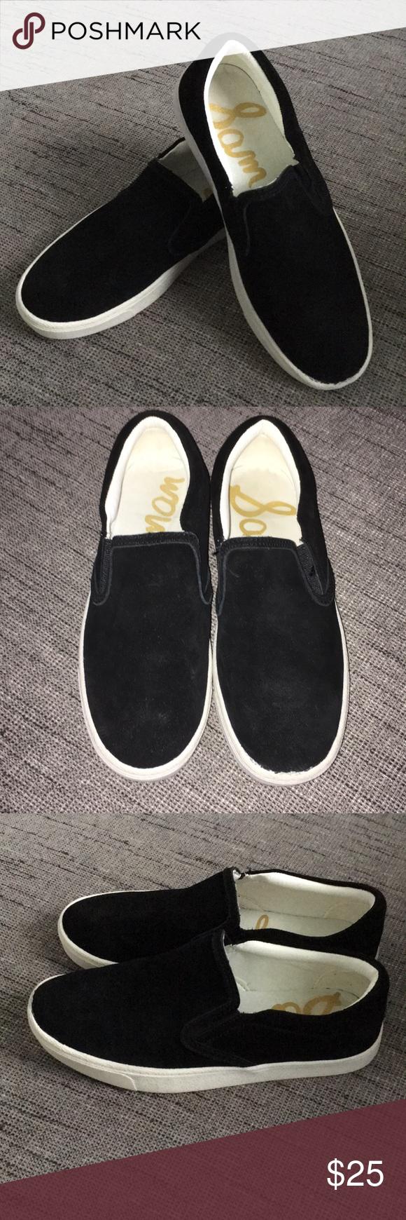 d034e2ada Sam Edelman Marvin Black Suede Slip on Sneakers 6 Sam Edelman Marvin black  suede slip on sneakers. Size 6 Sam Edelman Shoes Sneakers
