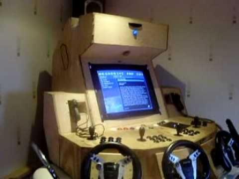 Ultra Mega Mame Arcade Machine It Has About 50 000 70 000