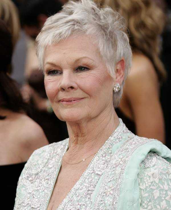 judy dench hair | Related Pictures Judi Dench Hairstyle Back | hair ...