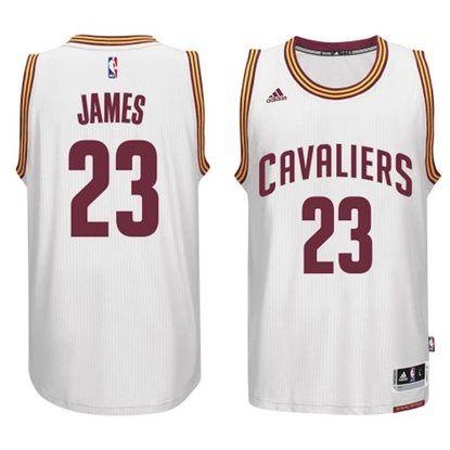 huge selection of 5e61b fd999 LeBron James Cleveland Cavaliers Adidas Swingman Home Jersey ...