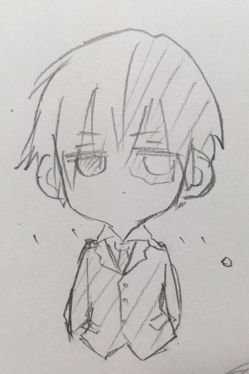 Cute Chibi Todoroki Chibi Sketch Sketches Anime Sketch