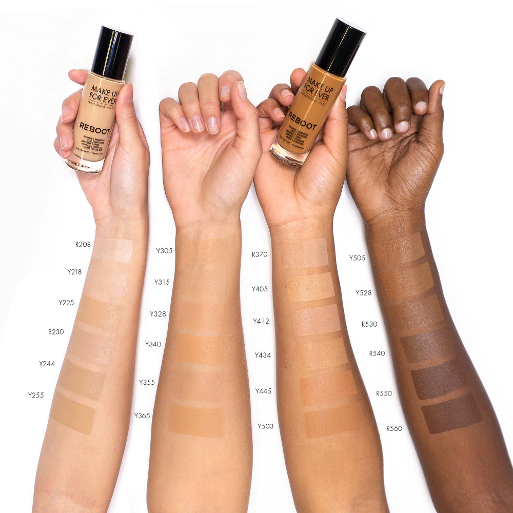 Reboot Active Care Revitalizing Foundation MAKE UP FOR