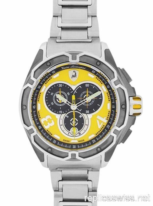 Replica Tonino Lamborghini Mesh Mens Watch 806sb Replica Watches For Men Watches Casio Watch