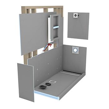 Wedi Shower System The Tile Shop Shower Kits Shower Drain Shower Systems