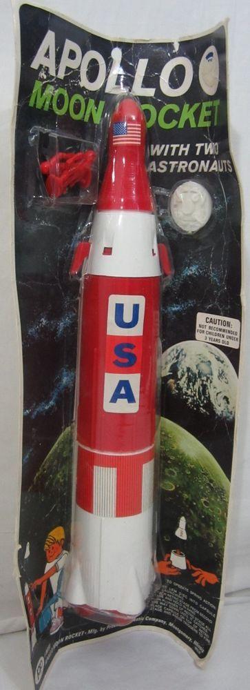 plastic rocket toy