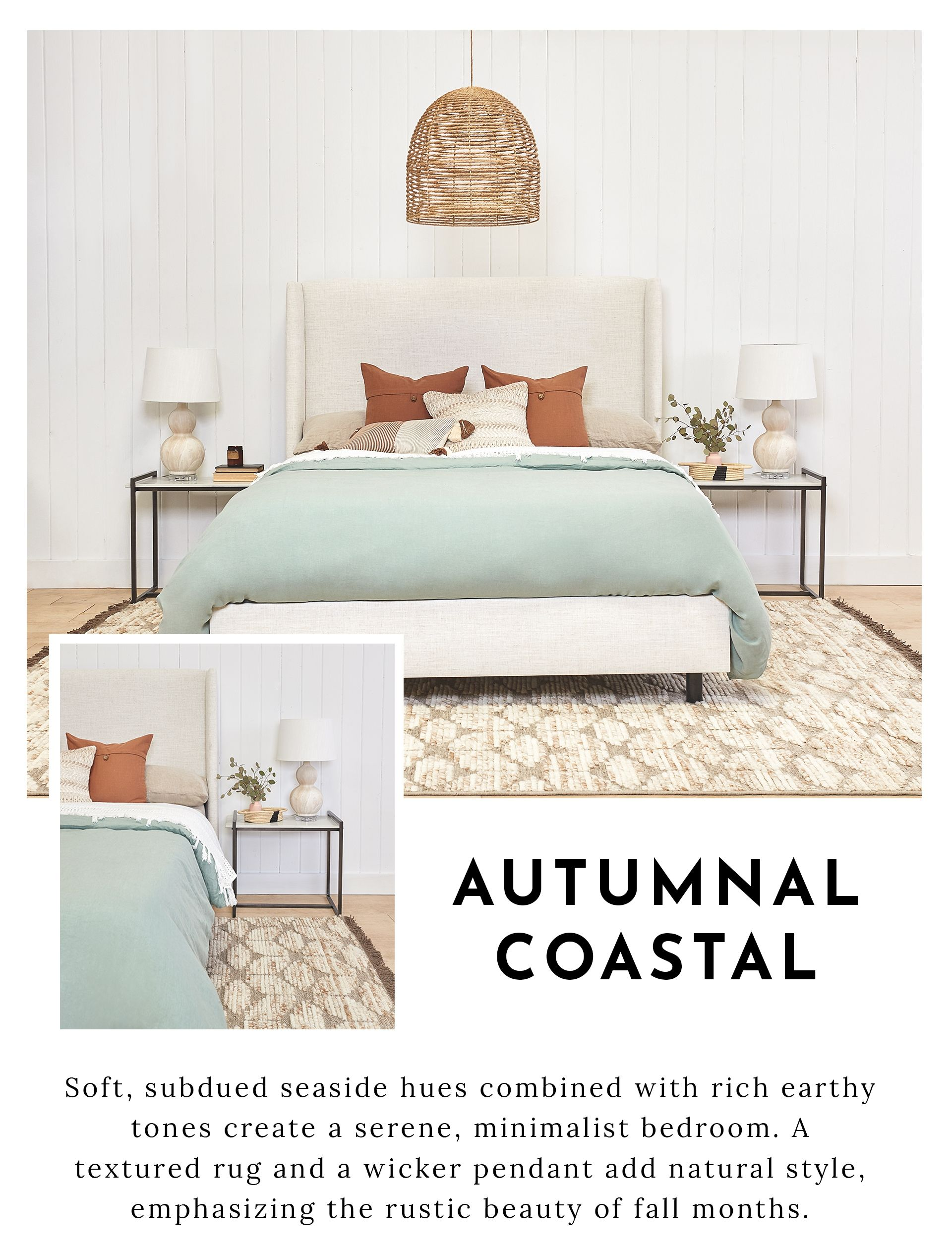 Fall/Winter 2018 Autumnal Coastal Coastal style