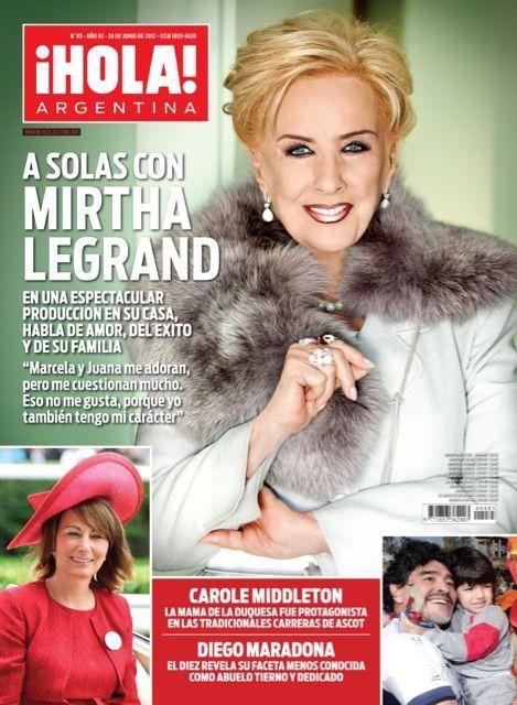 Pin De Juanca En Farandula Del Sur Carole Middleton Revista Hola Portadas