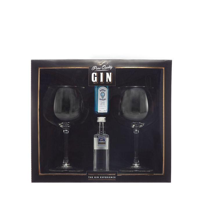 Debenhams Goblet glasses and gin experience set   Debenhams ...