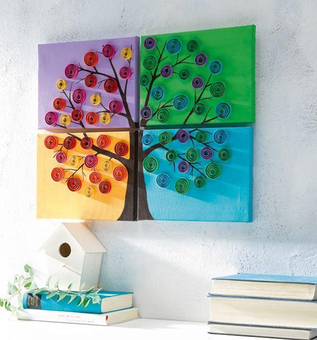 Modern Quilling TOPP Bastelbücher online kaufen Quilling - deko ideen kunstwerke heimischen vier wanden