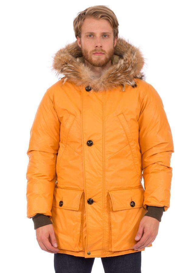 fb62440a4f34 Nigel Cabourn x Eddie Bauer Polar Parka Orange