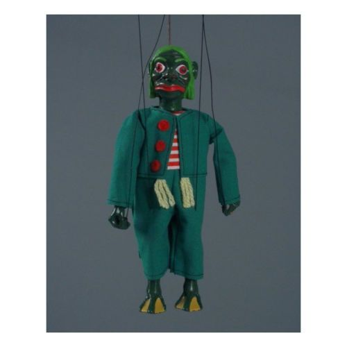 Czech Handmade Marionette Water Sprite   eBay  all the Czech Marioettes are scary as crap