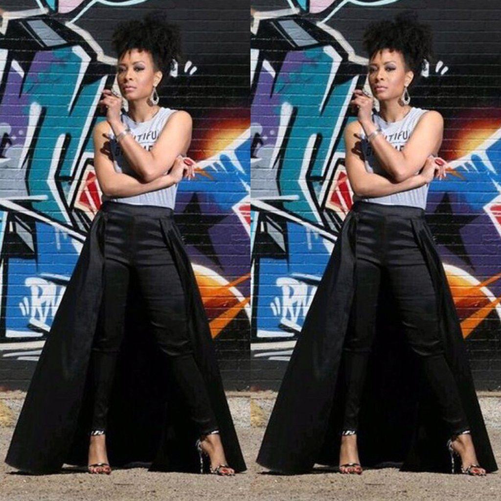 b7d9339b52ee9 Black Pant Skirt Combo | sweet 16 pictures in 2019 | Black pants ...