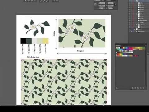 Adobe Illustrator Cs6 Pattern Tool Flower Pattern Design