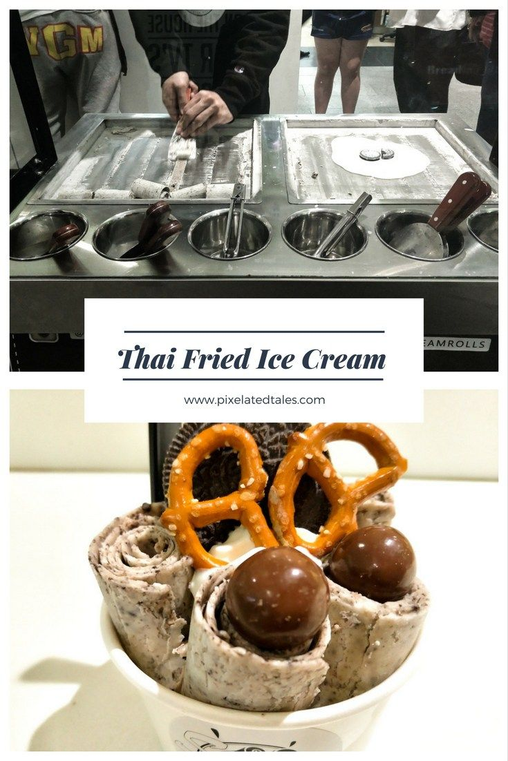 Stir fried thai ice cream succulents and artworks all about thai fried ice cream rolls in sydney ccuart Choice Image