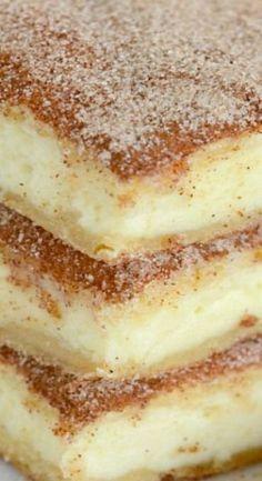 Churro Cheesecake Bars | Lil' Luna